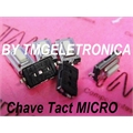CHAVE TACT SMD 2,5MM - 3MmX6MmX2,5Mm BRANCO - Tact Switches