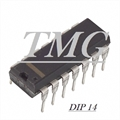 74HCT08 - CI Logic Circuit, Quad 2-Input AND, HC-CMOS, DIP OU SMD SOIC 14 Pinos
