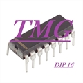L9222 - CI Quad Inverting Transistor Switch,1.2 A 4 CHANNEL, AND GATE BASED PRPHL , DIP 16PIN