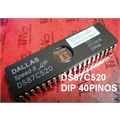 DS87C520 - IC MCU EPROM/ROM 33MHZ HS 40PINOS-DIP