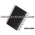 74HC373D SMD - CI Latch Transparent 3-ST 8-CH D-Type 20-Pin SOIC W