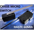 CHAVE MICRO SWITCH COM HASTE 60Mm - MEDIDA 28 X 16MM