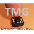 CHAVE TACT 12Mm -  12MmX12MmX12Mm 4 pinos - Tact Switches