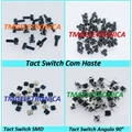 CHAVE TACT 15Mm -  6MmX6MmX15Mm 4 pinos - Tact Switches