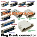 DB9 - Conector 9Vias,Solda Fio Macho OU Femea,D-Sub Connector Plug Female,Male Pins 9 Position